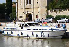 boat rental in france