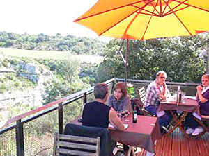 relais chantovent restaurant, minerve, near narbonne, st chinian, carcassonne, south france
